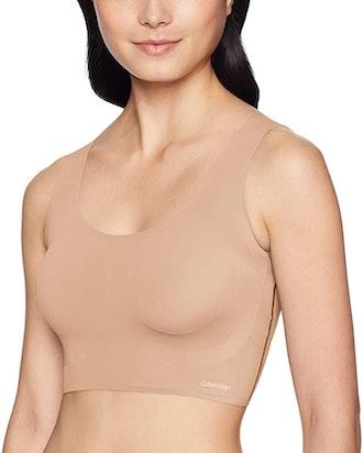 Calvin Klein Women's Invisibles Scoop Neck Bralette