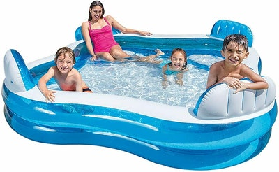 Swim Center Family Lounge Inflatable Pool