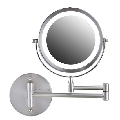 Ovente Wall Mounted Vanity Makeup Mirror