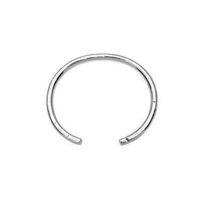 Crescent Bangle Bracelet