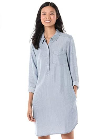 Goodthreads Tencel Popover Shirt Dress