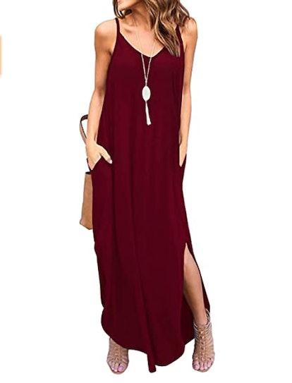 Kyerivs Casual Maxi Dress