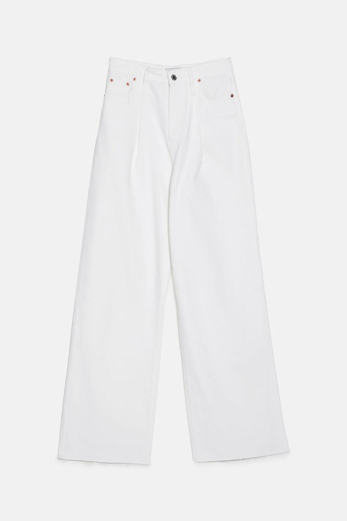 ZW Premium Extra Long Caia Wide Leg Jeans
