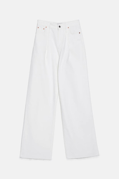 ZW Premium Extra Long Caia Wide Leg Jeans
