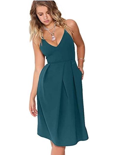 Eliacher Backless Party Dress