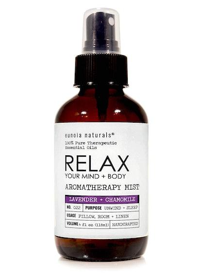 Eunoia Naturals Relax- Lavender Pillow Spray