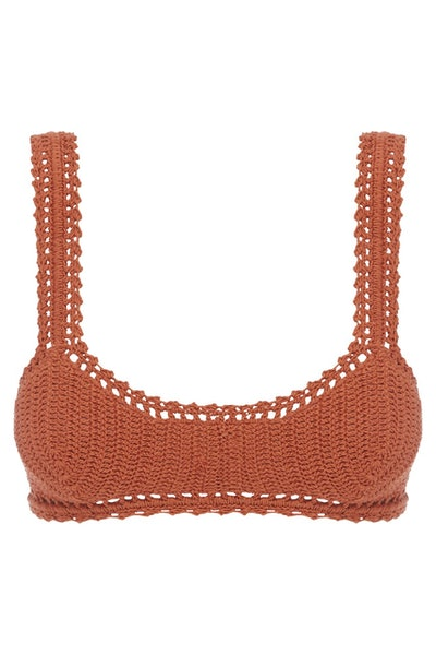Essential Crochet Crop Bikini Top