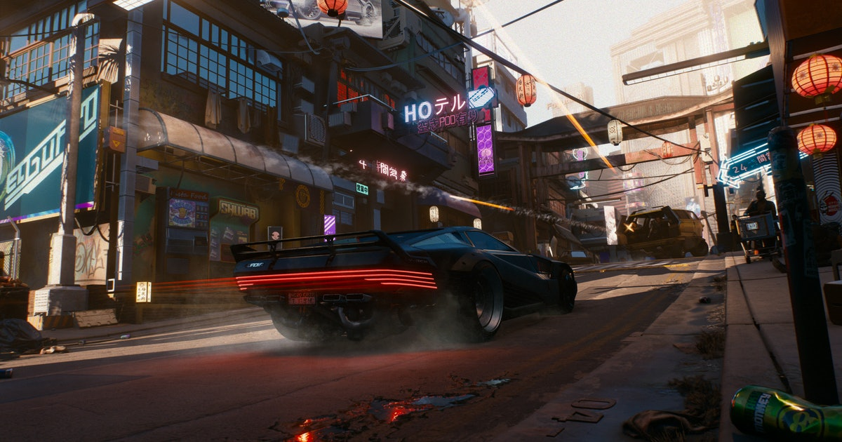 The stunning beauty of Cyberpunk 2077's Night City in 9 images
