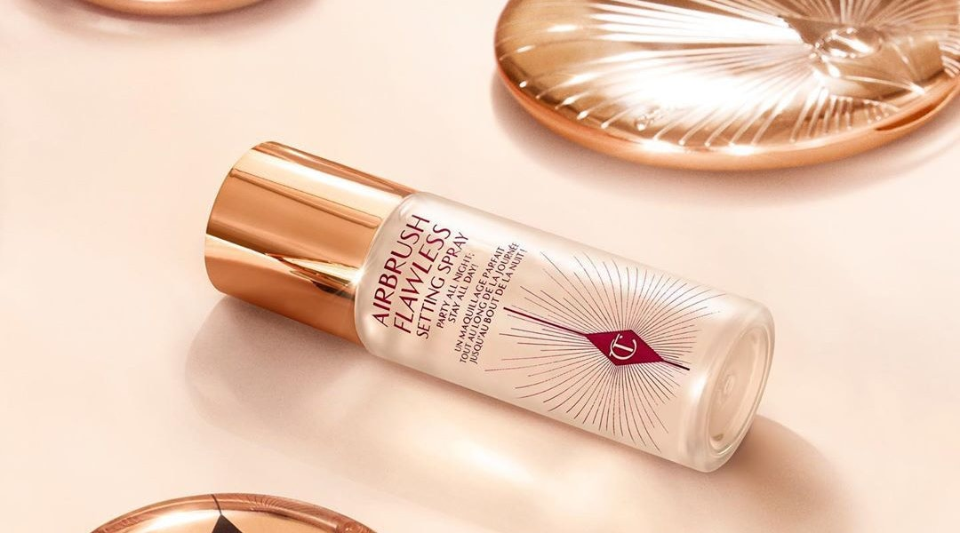 Charlotte Tilbury's new Airbrush Flawless Setting Spray is a summer essential
