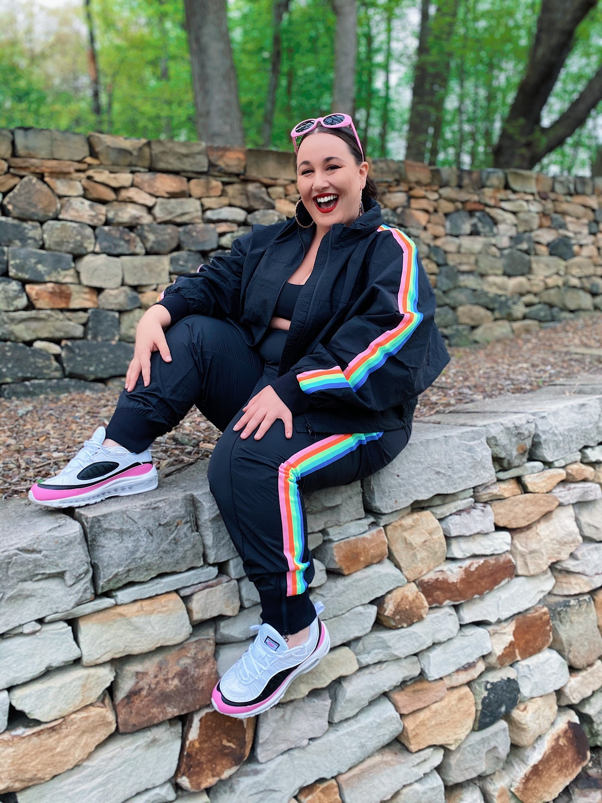 Rainbow Track Suit