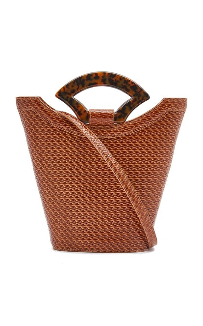 Rollo Leather Top Handle Bag
