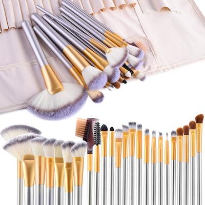 VANDER LIFE 24pcs Premium Cosmetic Makeup Brush Set