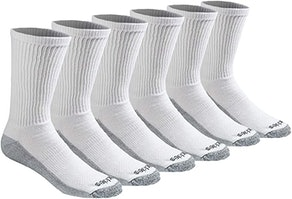 Dickies Men's Dri-tech Moisture Control Crew Socks (6 Pack)