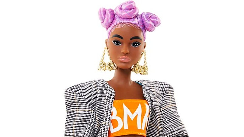 new barbie with baby hairs