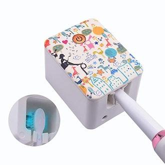 SARMOCARE Deep UV Toothbrush Holder Case