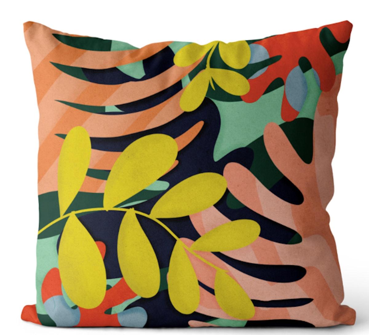 Blooming Pillow