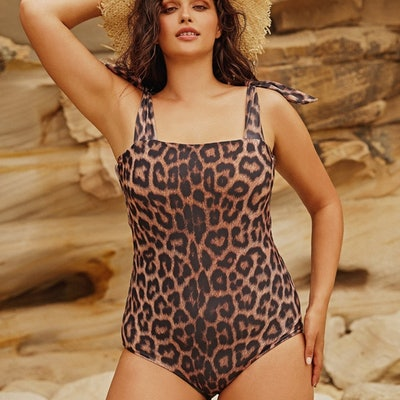 Come As You Are Leopard One Piece