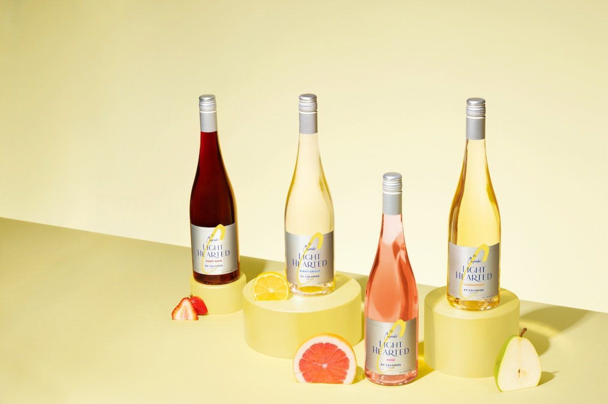 This new Cupcake Vineyards LightHearted wine collection features so many fruit flavors.