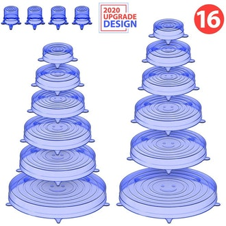 Holikme Silicone Stretch Lids (16-Pack)