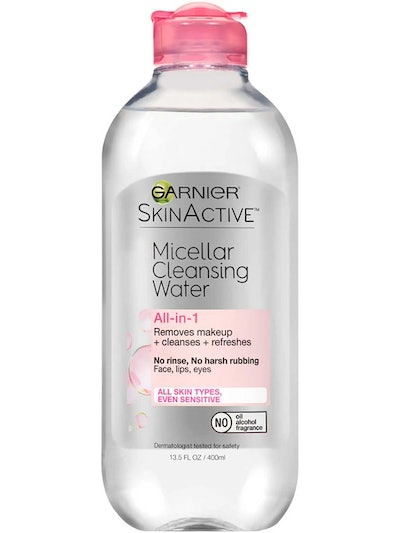 SkinActive Micellar Cleansing Water All-in-1 Cleanser & Makeup Remover