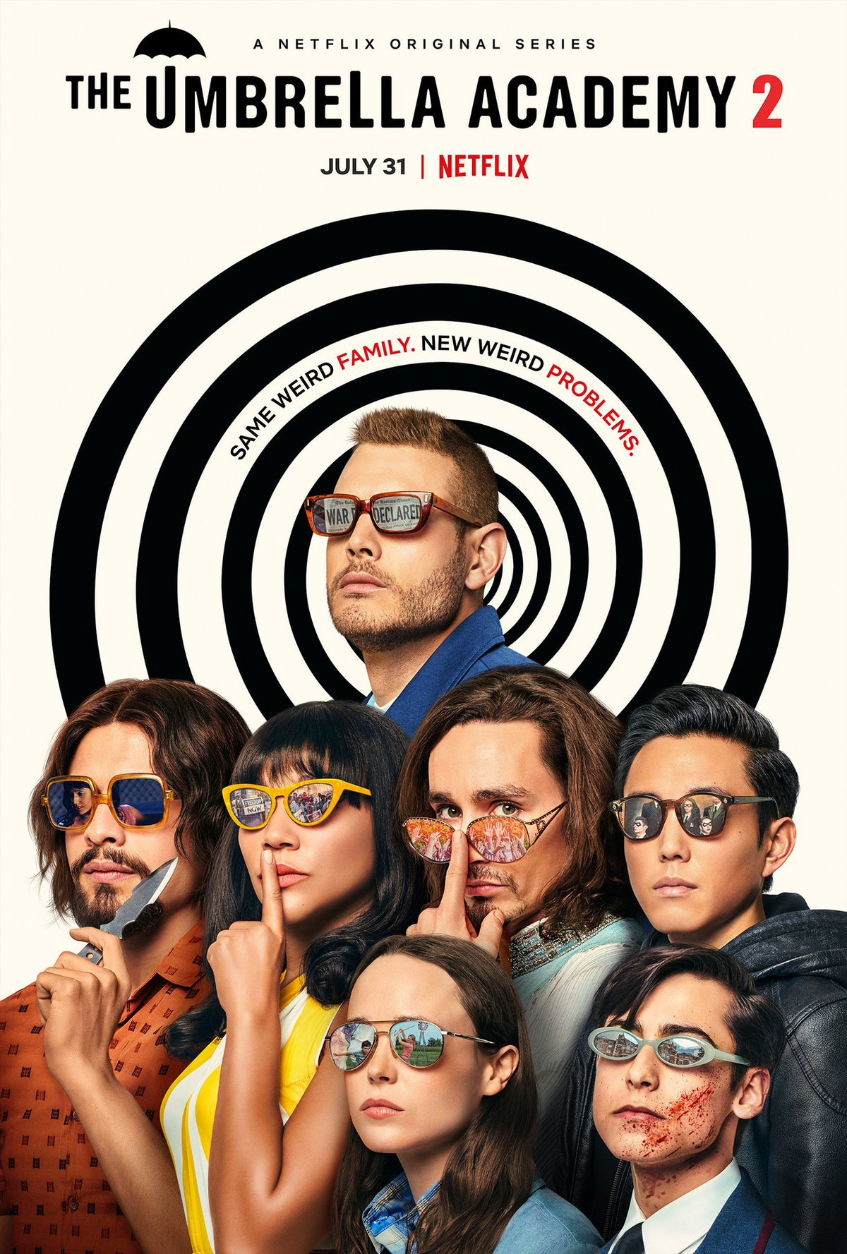 'The Umbrella Academy' Season 2 poster is filled with easter eggs.