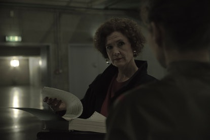 In 1986, Claudia Tiedemann takes over as director of Winden's nuclear power plant (via NETFLIX PRESS SITE)