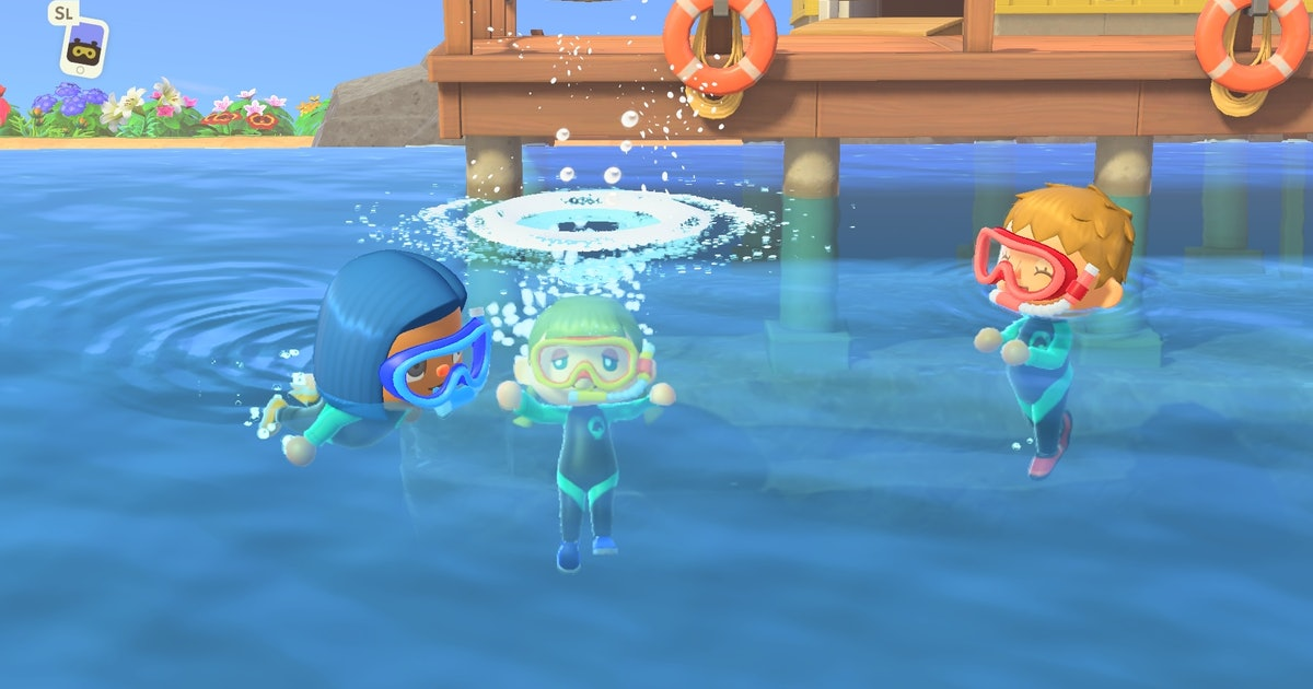 'Animal Crossing' Players Will Soon Be Able To *Swim* On 'New Horizons'