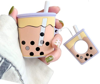UnnFiko Bubble Tea AirPods Case