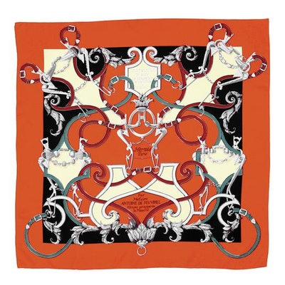 Hermès L'Instruction Du Roy Scarf Printed Silk