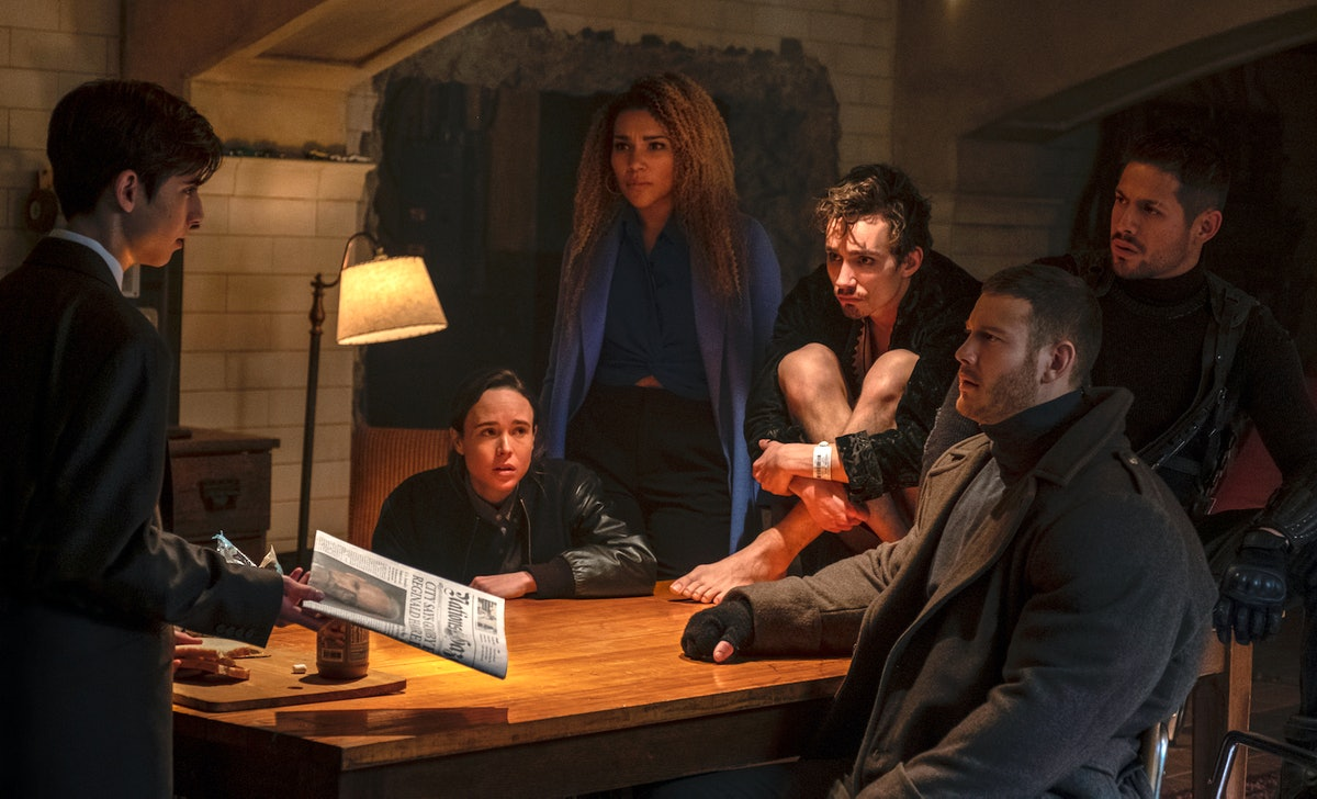 'The Umbrella Academy' Season 2 poster includes easter eggs about each character's new story.