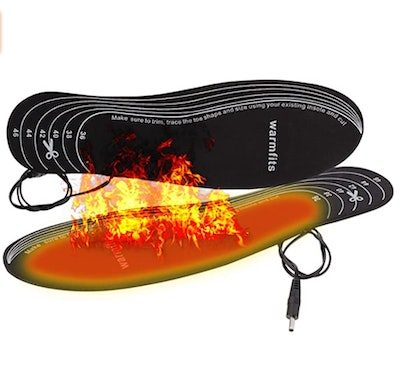 Warmfits Battery Powered Rechargeable Heated Insoles
