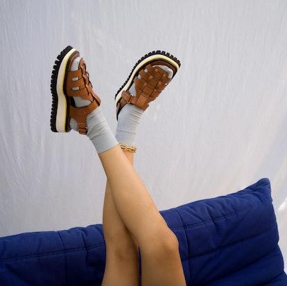 Boomer Tan Sandals