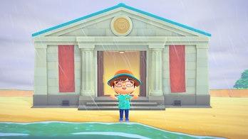 Animal Crossing New Horizons Blathers Museum