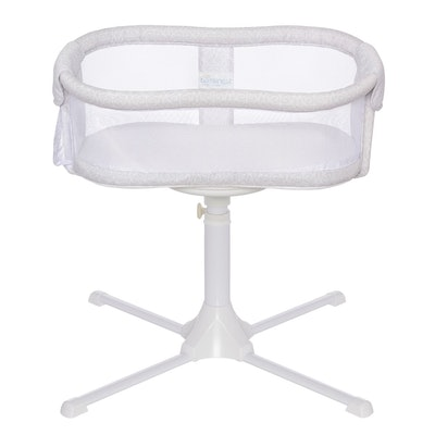Halo Bassinest Swivel Sleeper Bassinet Essentia Series Modern Lattice