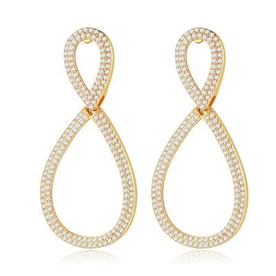 Natalie Mills Eyana Earrings in Gold