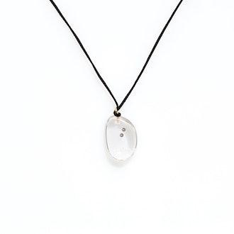 Petite Resin Pod with 2 Diamonds