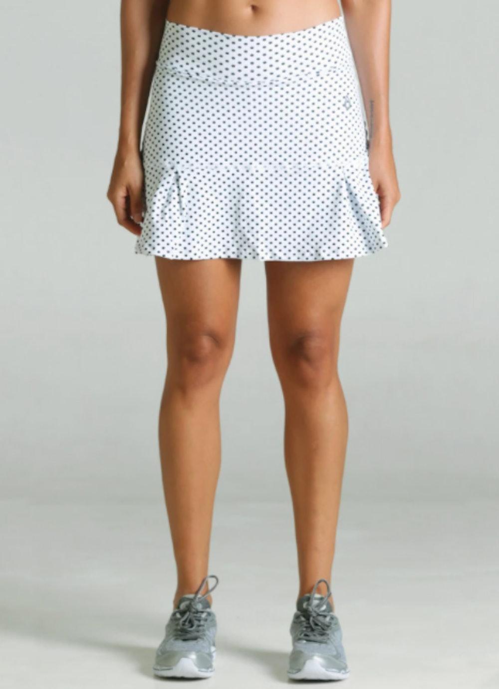 JoJo Skirt (White Polka Dot)