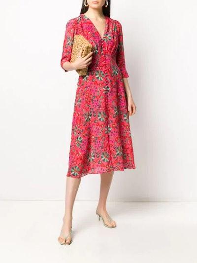 Eve floral print dress