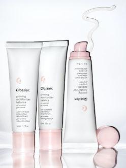 Glossier's new Priming Moisturizer Balance is a moisturizer for oily skin