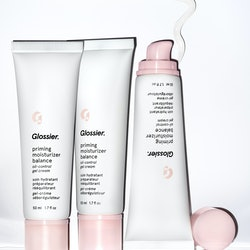 Glossier's new Priming Moisturizer Balance is a moisturizer for oily skin