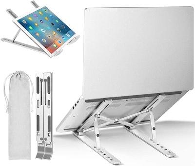iVoler Adjustable Aluminum Laptop Computer & Tablet Stand