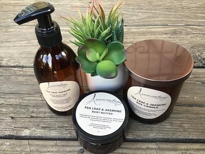 Aromaology Tea Leaf & Jasmine Gift Set