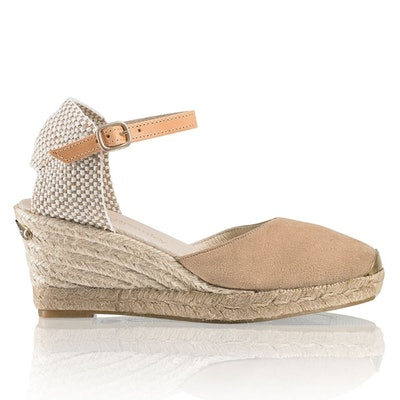 Russell & Bromley Coco-Nut Ankle Strap Espadrille