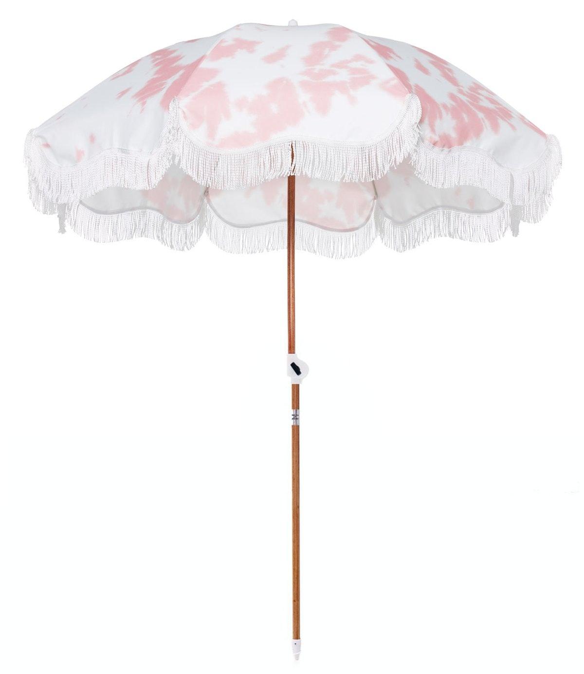 The Holiday Beach Umbrella - Tie Dye