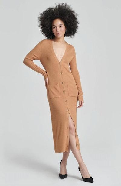 Summer Silk Duster Cardigan