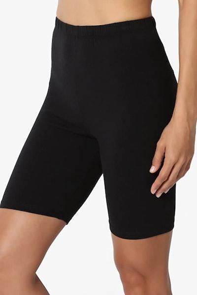 TheMogan Bermuda Short Stretch Leggings