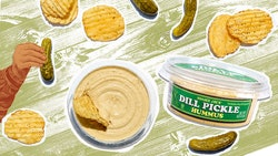Trader Joe's new dill pickle hummus is here just in time for summer.