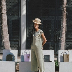 Black purse designers to support: Valerie Blaise of VAVVOUNE