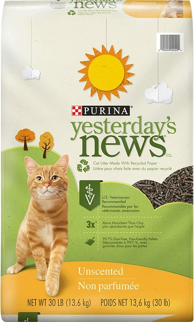 Purina Yesterday's News Unscented Paper Cat Litter (30 pounds)
