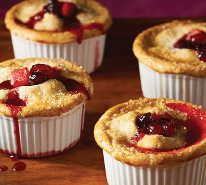 Hy-Vee's cranberry pot pie recipe is perfect for store-bought pie crust.